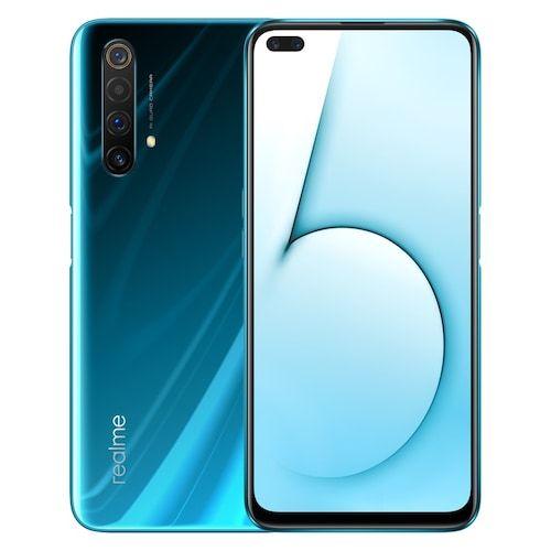 Realme X50 5G Mobile Phone 256GB 128GB ROM 12GB 8GB RAM 6.57 inch Snapdragon 765G Quad Main Camera 64MP 4200mAh NFC 5G Smartphone - 6GB 64GB Glacier Standard N gifts