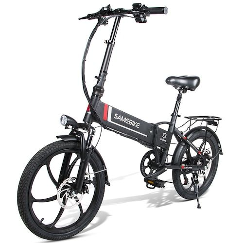 Samebike 20LVXD30 Smart Folding Electric Moped Bike E-bike EU plug
