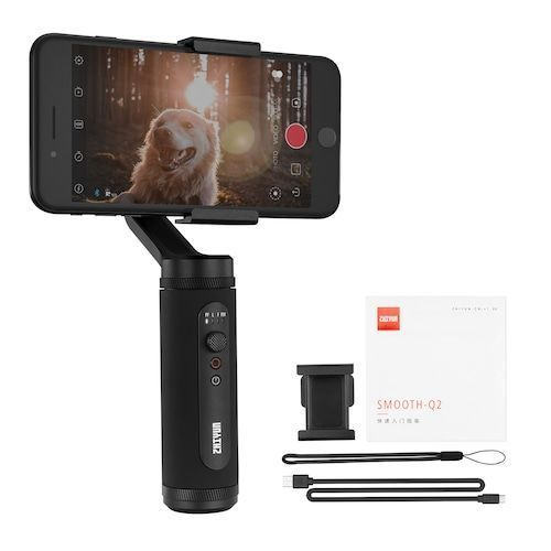 ZHIYUN Official SMOOTH Q2 Pocket size Gimbal for Smartphone iPhone Samsung  Vlog Handheld Stabilizer