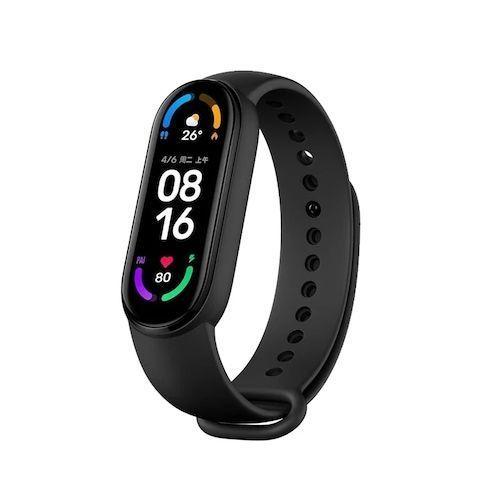 Original Xiaomi Mi Band 6 Smart Bracelet AMOLED Blood Oxygen Fitness  Traker Heart Rate Bluetooth Waterproof Smart Band 6