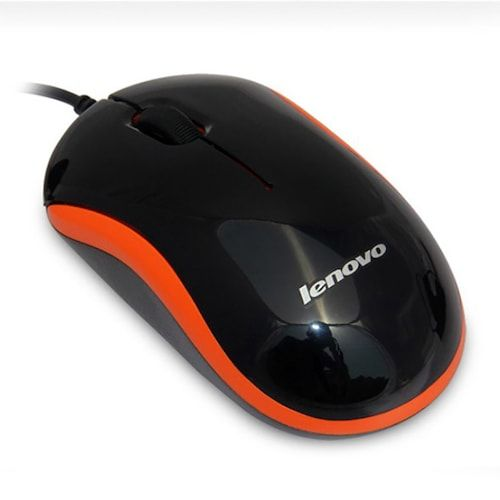 Lenovo M100 Wired Mouse for Notebook Desktop Computer Business Office