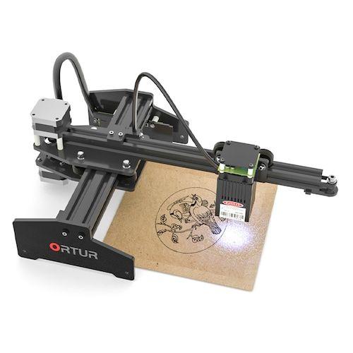 Ortur Laser Master Desktop Laser Engraver Cutter Laser Engraving Machine  32-bit Motherboard Laser GRBL Control Software Easy to Install