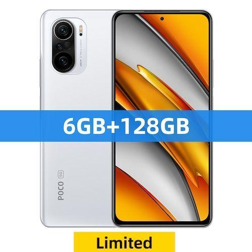 Global Version POCO F3 5G Smartphone Snapdragon 870 Octa Core 128GB/256GB  6.67 120Hz E4 AMOLED Display