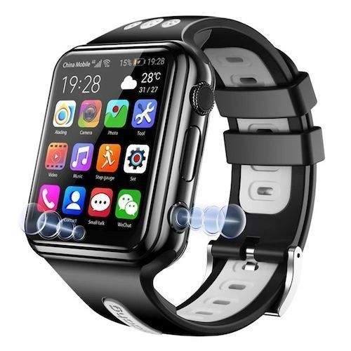Gocomma W5 (H1-C-ALADENG) 4G GPS WiFi Location Smart Watch Phone Android  System Clock App Install Bluetooth Smartwatch 4G SIM Card