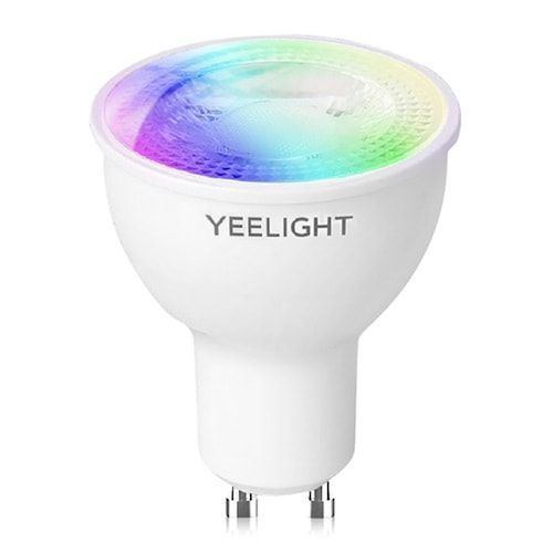 Yeelight YLDP004-A GU10 Colorful Smart LED Bulb W1 Game Music Sync App Voice Control Work Yeelight APP Google Assistant Alexa