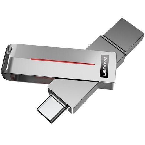 Lenovo L3C U Disk USB Flash Memory USB3.1 / Type-C Double Interface 32GB /  64GB / 128GB / 256GB