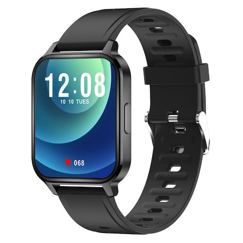 Q18 Smart Watch for Android Phones 1.7 inch Fit Watch with Heart Rate and Sleep Monitor Activity Tracker with IP68 Waterproof Step Counter Pedometer Smartwatch for Women and Men