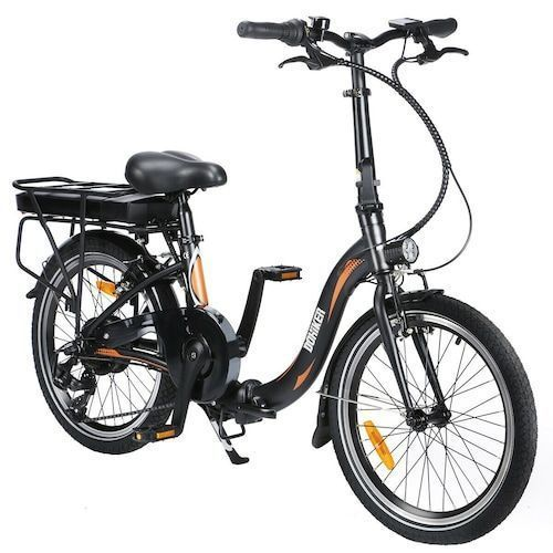 Dohiker 20F054 Electric Folding Bike 20inch 250W 25km/h City E-Bike with  36V 10AH Battery 3 Riding Mode 7 Speed