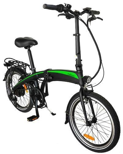 FAFREES 20F055 Electric Bike Folding Frame 250W 20Inch Commuter E-bike Hidden 7.5AH Lithium-Ion Battery