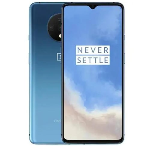OnePlus 7T Smartphone Dual SIM 6.55inch AMOLED Screen Snapdragon 855 Plus  Octa Core 48MP Triple Camera NFC UFS 3.0 Global Version Mobile Phone
