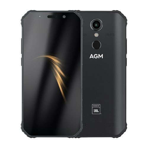 AGM A9 IP68 Waterproof Rugged Phone 4GB 32GB  - Black HK