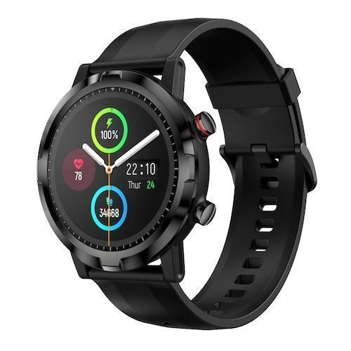 Haylou RT LS05S Smartwatch Heart Rate Monitor IP68 Waterproof Long Battery Life Sport Watch for Women and Men - Black
