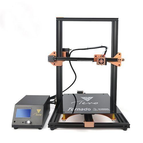 Newest Tornado 3D Printer Most Assembled Full Aluminum Frame Imprimante 3D  Larger Printing Area