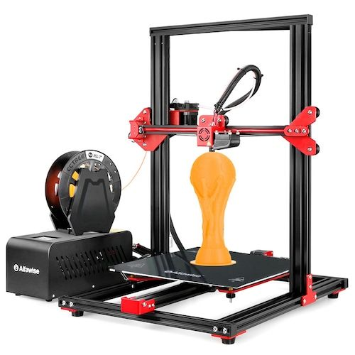Alfawise U20 Large Scale 2.8 inch Touch Screen Aluminium Alloy DIY FDM 3D  Printer