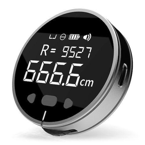 Duka Small Q 8-in-1 HD LCD Display Electronic Ruler Ultra Long Battery  Life Length Measuring Tool