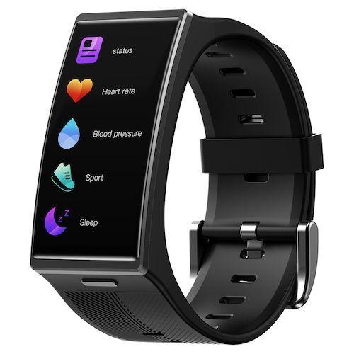 TICWRIS GTX Men Smart Bracelet 300mAh Bluetooth Waterproof Blood Pressure  Sport Fitness Wristband for Android iOS
