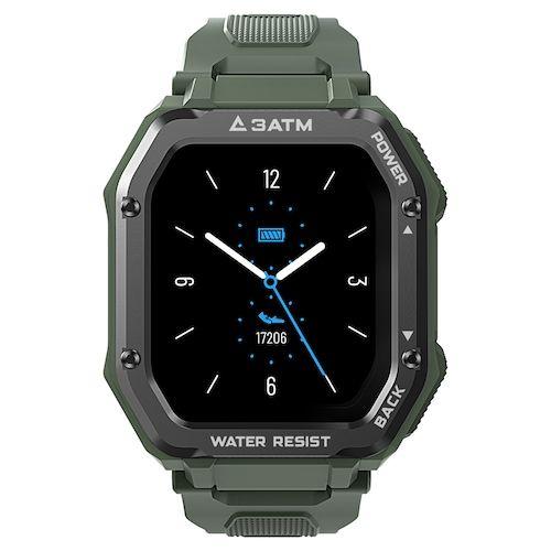 KOSPET ROCK Rugged Watch For Men Outdoor Sports Waterproof Fitness Tracker  Blood Pressure Monitor Smart Watch
