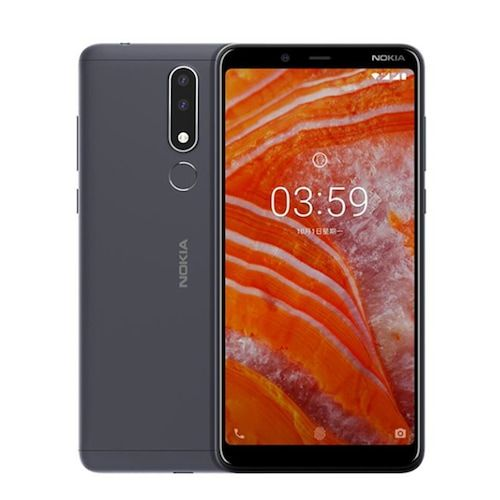Global Version Nokia 3.1 Plus SmartPhone 6.0 inches Dual Sim 32GB 3GB RAM  13MP Camera Helio P22 LED flash