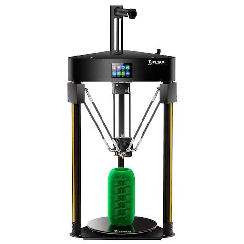 Flsun Q5 3D Printer Delta Auto-Level Resume 32bits board Kossel TMC 2208  Face sheild Prusa