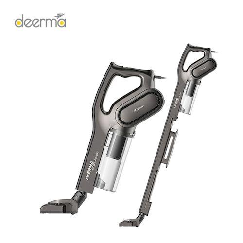 Deerma DEM-DX700S Side Rotary Filter 2-in-1 Vacuum Cleaner International  Version - Black