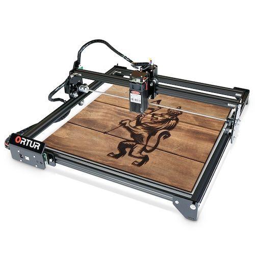 ORTUR Laser Master 2 32-bit Motherboard Laser Engraving Machine 400 x 430  mm Large Engraving Area Fast Speed High Precision