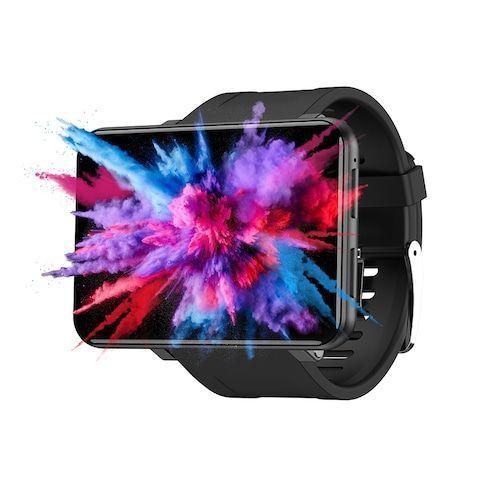 Ticwris Max 4G Smart Watch Phone Android 7.1 MTK6739 Quad Core 3GB / 32GB  Smartwatch Heart Rate Pedometer IP67 Waterproof - Black