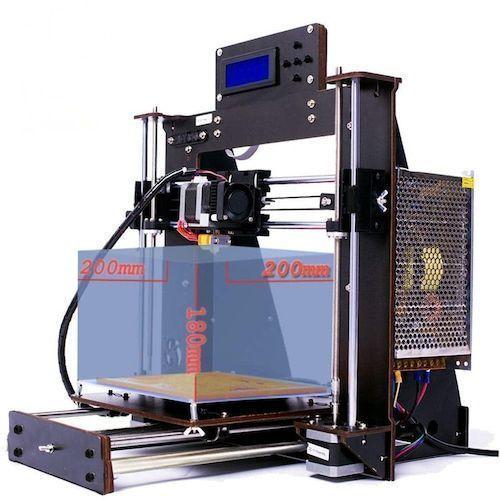 2020 Upgraded Full 3D Printer Prusa i3 Reprap MK8 DIY Kit MK2A Heatbed LCD  resume printing 3d Printer