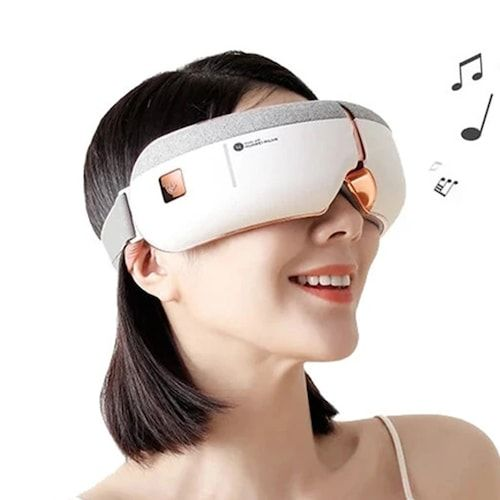 HUAWEI A3 Wireless Smart Eye Massager Works with HUAWEI HiLink Foldbale  Eye Massager with 8 Airbags 5 Modes Surround Stereo Sound Eye Care Glasses