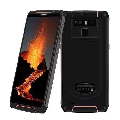 Cubot King Kong 3 IP68 Waterproof RuggedPhone NFC 6000mAh Big Battery  Android 8.1 4GB+64GB Type-C FastCharge OctaCore KingKong 3