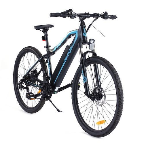 Bezior M1 Electric Bike Bicycle 80KM Mileage Pedal Mode 250W Motor 48V  12.5AH Battery 5in Smart Meter 5-Speed Transmission