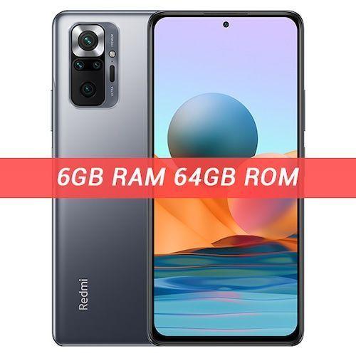 Global Version Xiaomi Redmi Note 10 Pro Smartphone 108MP Camera Snapdragon  732G 120Hz AMOLED Display