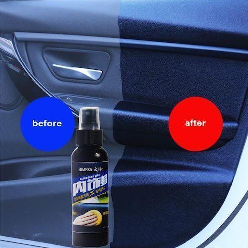 1PCS 50 120ml Car Interior Cleaning Tool Multifunctional Waxing Tire-wheel  Dedicated Refurbishing Cleaner Car Accessories TSLM1