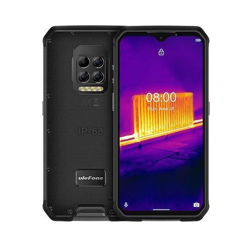 Ulefone Armor 9 Thermal Camera Rugged Phone Android 10 Helio P90 Octa-core  8GB+128GB Mobile Phone 6600mAh 64MP Camera Smartphone