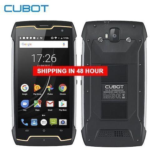 Cubot KingKong CS Android 10 IP68 Waterproof Smartphone 5 Inch 4400mAh  Face ID Dual SIM Card Telephone Rugged Phone