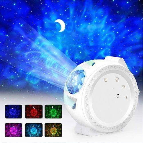 Star Sky Projection Lamp Dream Star Night Lamp USB Charging Atmosphere  Lamp Colorful 3D Vision Laser Lamp