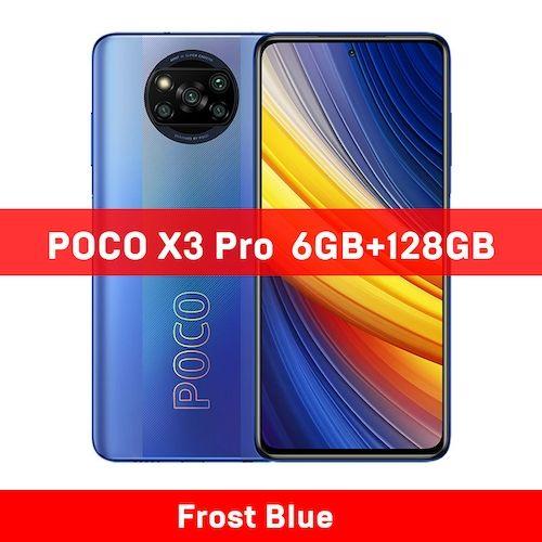 Global Version POCO X3 Pro 6GB 128GB/8G 256GB NFC Smartphone Snapdragon  860 33W Quad AI Camera 120Hz DotDisplay 5160mAh
